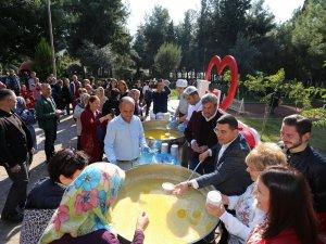 DokumaPark'ta Antalyalılara keşkek ikramı