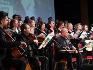 Konyaltı Belediyesi TSM Korosu'ndan Yusuf Nalkesen anma konseri