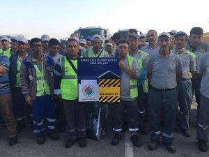 Kepez'in önceliği çalışanlarının güvenliği