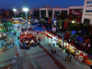 Yeni yıl heyecanı Muratpaşa'da yaşanıyor