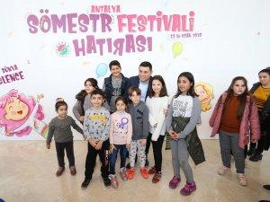 Çocuklar Kepez'de çok mutlu