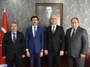 Başkan Bahar, Afyon'daki OSB'leri ziyaret etti