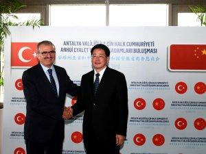 Antalya ve Çin'den dostluk protokolü