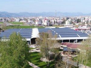 Kendi elektriğini üreten Döşemealtı Belediyesi GES Projesi ile örnek oldu
