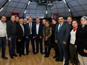 """Başkan Uysal,  """"Muratpaşa'mız aşk ve güzellik şehri"""""""