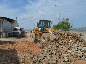 Korkuteli Sanayi'nin asfalt çilesi son buluyor
