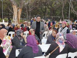 Başkan Genç, Mesire alanın da kadın çiftçilerle buluştu