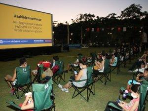 Büyükşehir'den çocuklara özel sinema keyfi