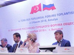 Türk-Rus Forumu başladı