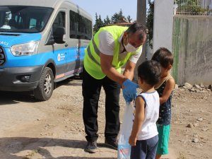 Halk Süt çocuklara ulaşmaya devam ediyor