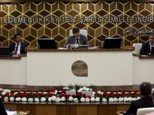 Büyükşehir Kasım ayı devam meclisi yapıldı