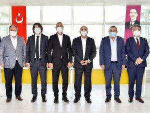 Ziraat Bankası'ndan Antalya OSB'ye üst düzey ziyaret