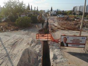 Kepez'de 10 mahalle kanalizasyona kavuşuyor