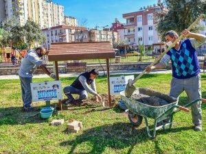 Kepez'den hayvanlara bir iyilik yatırımı daha