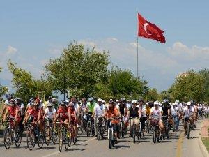 'Hoş geldin Atam' bisiklet turu