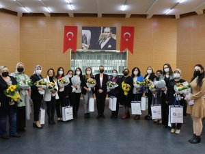 Büyükşehir Belediyesi kadın muhtarları ağırladı