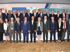 Türkiye'nin Eylül Ayı ihracat rakamları Antalya'da açıklandı