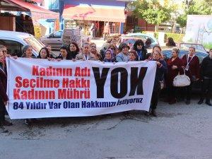 Kadınlardan CHP'ye tepki