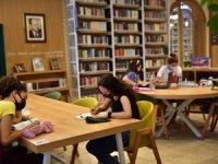 Antalya'nın en zengin kütüphanesi 64 bin 656 kişi ağırladı