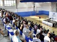 Antalya OSB Koleji'nde Üstün Dökmen semineri
