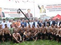 Başkan Böcek Bayramiç Yağlı Güreşlerine katıldı