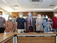 Türkiye'nin ilk ve ikinci rahim nakli yapılan hastaları bir araya geldi