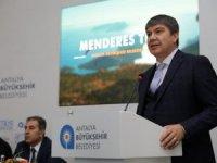 Başkan Türel'den basın mensuplarına tanıtım