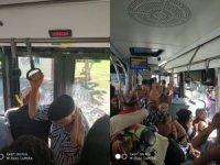 Otobüsün hali!