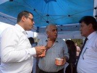 CHP İl Başkanı Kumbul'dan Kemer Çıkarması