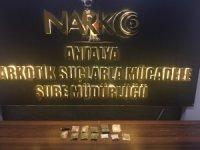 Antalya'da uyuşturucu baskını
