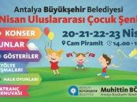 Büyükşehir'den çocuklara 23 Nisan hediyesi