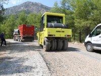 Konyaaltı Belediyesi'nden Doyran'a asfalt
