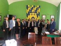 Başkan Böcek Kardeş Şehirler Fuarı için Ukrayna'nın Lviv kentinde