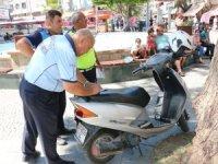 Büyükşehir Ulaşım Zabıta ekiplerinden Kapalıyol'da denetim