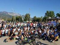 Bisiklet dostu Türel'den  bisiklet festivaline destek