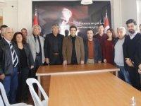 Başkan Genç'ten,  CHP İlçe Başkanı Doğan'a ziyaret