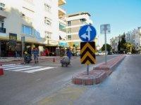 Şirinyalı'da yeni trafik düzeni