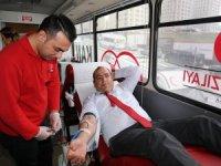Ulaşım A.Ş'den  kan bağışı