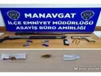 Şehir magandaları Manavgat'ta yakalandı