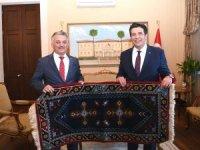 Başkan Genç'ten Vali Yazıcı'ya ziyaret
