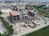 Serik Kültür Merkezi inşaatı hızla devam ediyor
