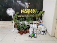 Manavgat'ta Silah ve Uyuşturucu Madde Ele Geçirildi