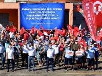 Muratpaşa'da işçinin yüzü güldü