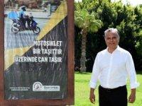 Muratpaşa'dan 'Motosikleti fark et' kampanyası