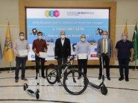 Sürdürülebilir Kent İçi Hareketlilik Proje Yarışması ödül töreni gerçekleşti