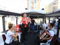 Büyükşehir'in mobil konserleri devam ediyor