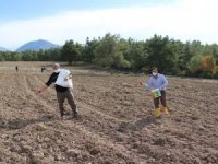Büyükşehir'den çiftçilere tohum desteği