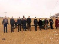 Büyükşehir'in çiftçiye desteği sürüyor