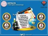 ANTALYA'LI ÖĞRENCİLER ÖDÜLLERİ KAPTI
