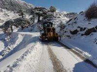 Gazipaşa Belbaşı Yaylası'nda karda mahsur kalan vatandaş kurtarıldı
